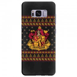 harry potter gryfindor ugly christmas Samsung Galaxy S8 Plus Case | Artistshot