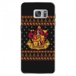 harry potter gryfindor ugly christmas Samsung Galaxy S7 Case | Artistshot