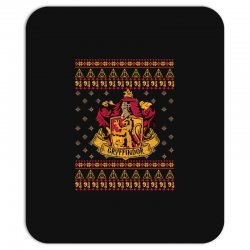 harry potter gryfindor ugly christmas Mousepad | Artistshot