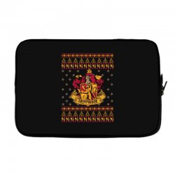 harry potter gryfindor ugly christmas Laptop sleeve | Artistshot