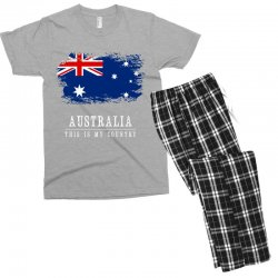 This is my country - Australia Men's T-shirt Pajama Set | Artistshot