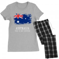 This is my country - Australia Women's Pajamas Set | Artistshot