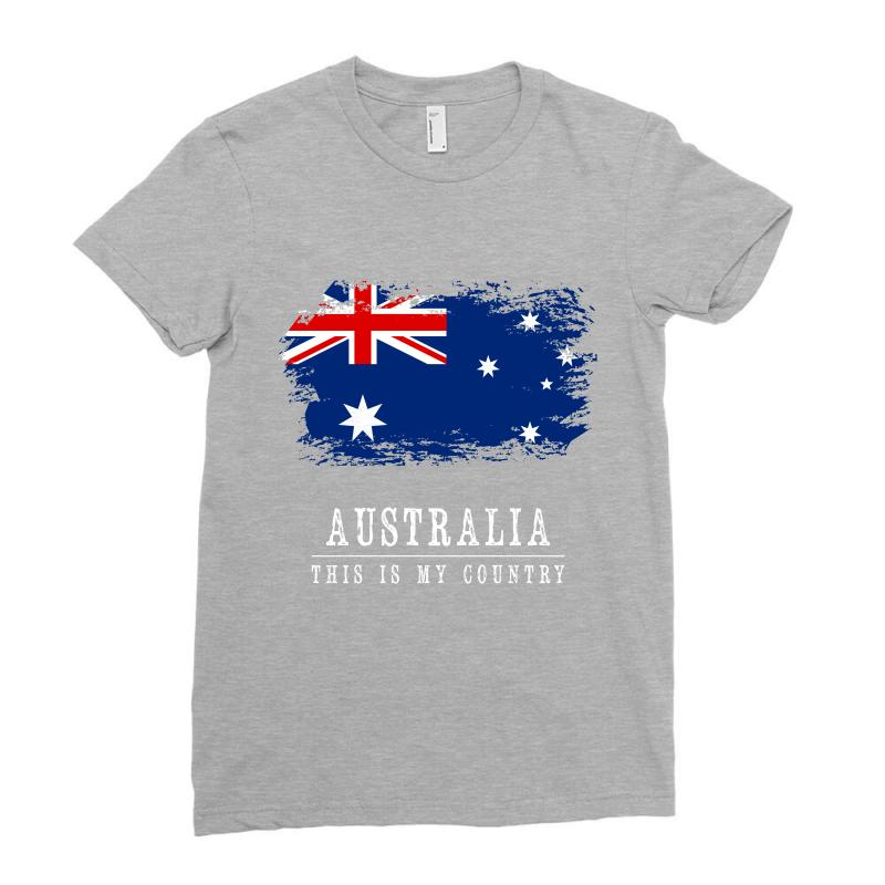 This Is My Country - Australia Ladies Fitted T-shirt | Artistshot