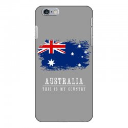 This is my country - Australia iPhone 6 Plus/6s Plus Case | Artistshot