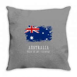 This is my country - Australia Throw Pillow | Artistshot