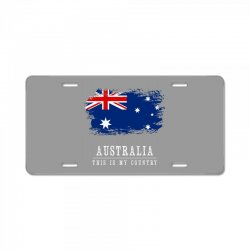 This is my country - Australia License Plate | Artistshot