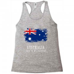 This is my country - Australia Racerback Tank | Artistshot