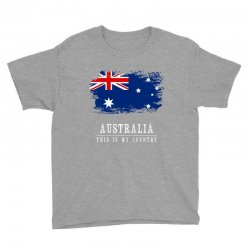 This is my country - Australia Youth Tee | Artistshot
