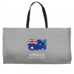 This is my country - Australia Weekender Totes | Artistshot