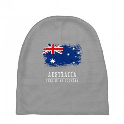 This is my country - Australia Baby Beanies | Artistshot