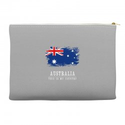 This is my country - Australia Accessory Pouches | Artistshot