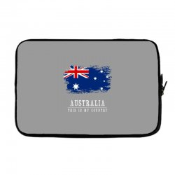 This is my country - Australia Laptop sleeve | Artistshot