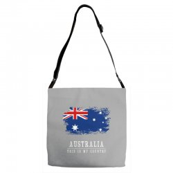 This is my country - Australia Adjustable Strap Totes | Artistshot