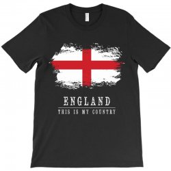 This is my country - England T-Shirt | Artistshot
