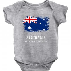 This is my country - Australia Baby Bodysuit | Artistshot