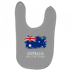 This is my country - Australia Baby Bibs | Artistshot