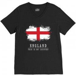 This is my country - England V-Neck Tee   Artistshot