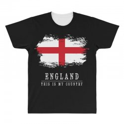This is my country - England All Over Men's T-shirt | Artistshot