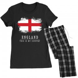 This is my country - England Women's Pajamas Set   Artistshot