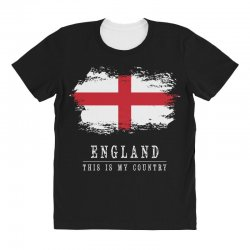 This is my country - England All Over Women's T-shirt   Artistshot