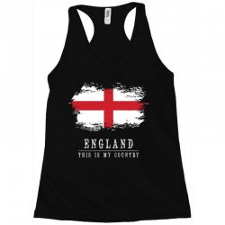 This is my country - England Racerback Tank | Artistshot