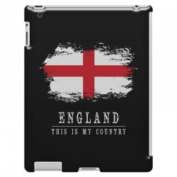 This is my country - England iPad 3 and 4 Case | Artistshot
