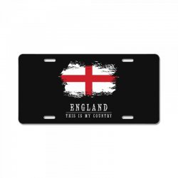 This is my country - England License Plate | Artistshot