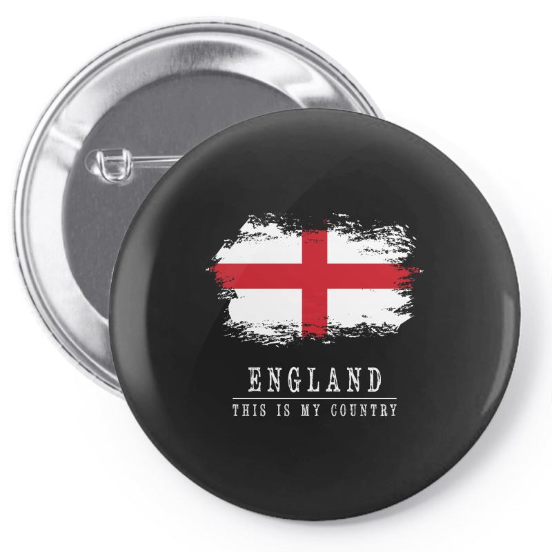 This Is My Country - England Pin-back Button | Artistshot