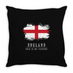 This is my country - England Throw Pillow | Artistshot