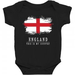This is my country - England Baby Bodysuit | Artistshot