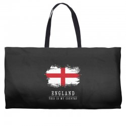 This is my country - England Weekender Totes | Artistshot