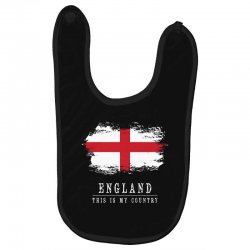 This is my country - England Baby Bibs | Artistshot