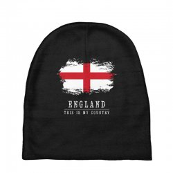 This is my country - England Baby Beanies | Artistshot