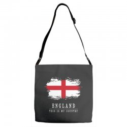 This is my country - England Adjustable Strap Totes | Artistshot