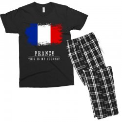 This is my country - France Men's T-shirt Pajama Set | Artistshot