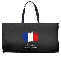 This is my country - France Weekender Totes | Artistshot