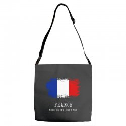 This is my country - France Adjustable Strap Totes | Artistshot