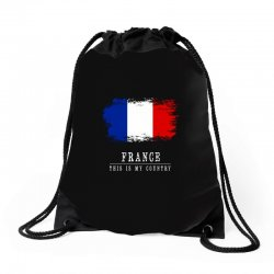 This is my country - France Drawstring Bags | Artistshot