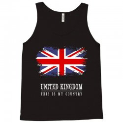 This is my country - United Kingdon Tank Top | Artistshot