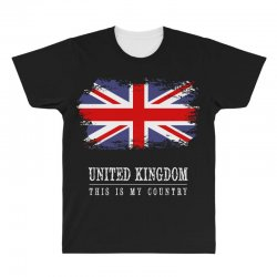 This is my country - United Kingdon All Over Men's T-shirt | Artistshot
