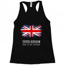 This is my country - United Kingdon Racerback Tank | Artistshot