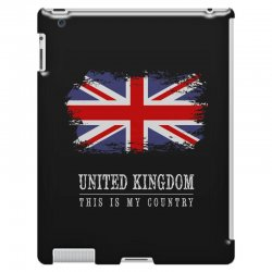 This is my country - United Kingdon iPad 3 and 4 Case | Artistshot
