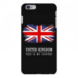 This is my country - United Kingdon iPhone 6 Plus/6s Plus Case | Artistshot