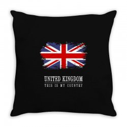 This is my country - United Kingdon Throw Pillow | Artistshot