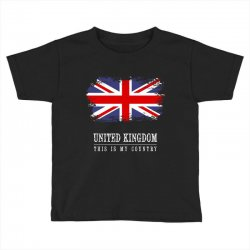 This is my country - United Kingdon Toddler T-shirt | Artistshot