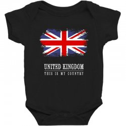 This is my country - United Kingdon Baby Bodysuit | Artistshot