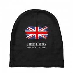 This is my country - United Kingdon Baby Beanies | Artistshot