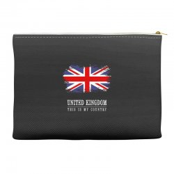 This is my country - United Kingdon Accessory Pouches | Artistshot