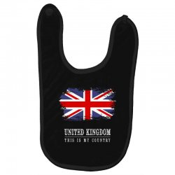 This is my country - United Kingdon Baby Bibs | Artistshot