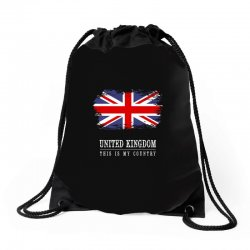 This is my country - United Kingdon Drawstring Bags | Artistshot